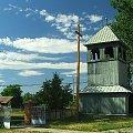 Dzwonnica przy kościele w Gródku #dzwonnica #Gródek #kościół