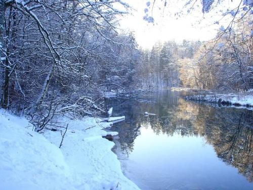 Krutynia #Krutynia #Zima2006
