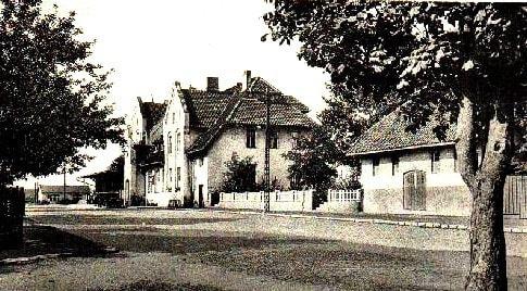 Johannisburg - dworzec PKP #Pisz #Johannisburg