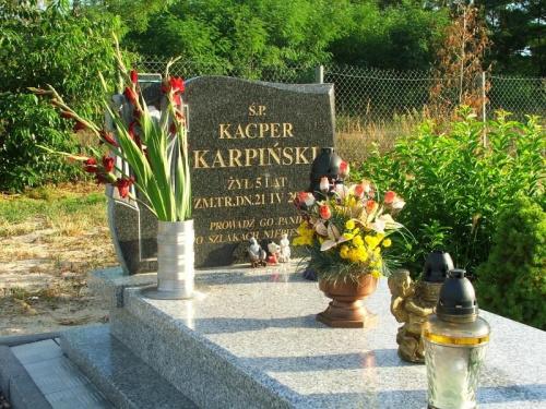 Puławy - cmentarz przy ulicy Budowlanych #grób #cmentarz #Puławy #Budowlanych