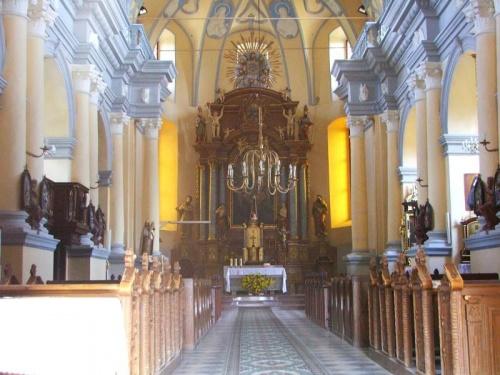 Gołąb - kościół parafialny p.w. św. Floriana i św. Katarzyny #Gołąb #kościół #zabytek #zabytki #Florian #Katarzyna