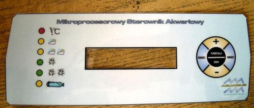 Sterownik do akwarium na mikrokontrolerze