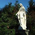 Figura przy kościele w Górze Puławskiej #figura #GóraPuławska