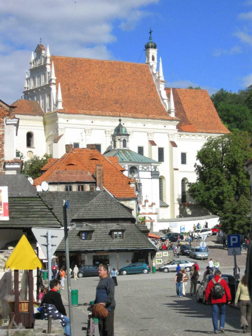 Kościół farny w Kazimierzu Dolnym