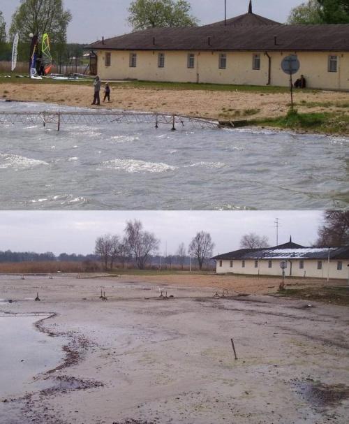 Porównanie - Powidz Łazienki - lato i jesień 2005