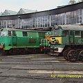 Lokomotywownia Szczecinek. Lokomotywy gotowe do jazdy. #PKP #Szczecinek #stacja #dworzec #lokomotywownia
