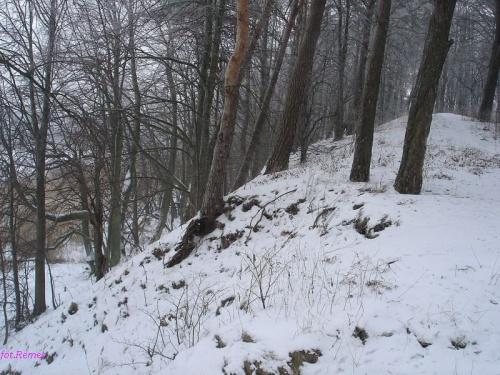 Wyspa Czarcia - Fort Lyck #Mazury #JezioroŚniardwy #Zima2006