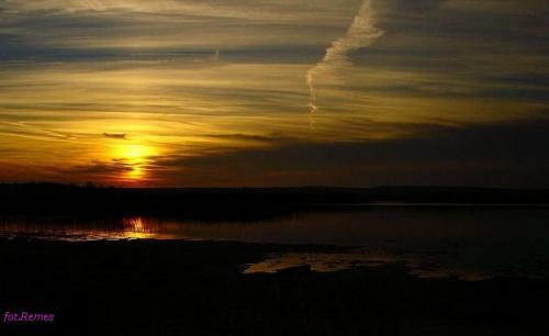 Zachód słońca nad Sekstami #JezioroSeksty