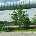 Niebieski szlak rowerowy do rezerwatu Piskory #Puławy #Piskory