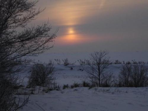 #zima #ZachódSłońca