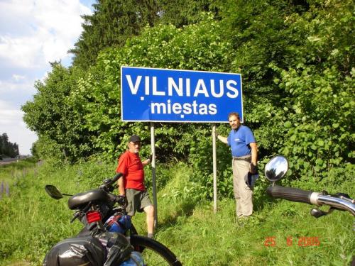 Cel naszej podróży Vilno. ( Santo subito J P II ) #pttk