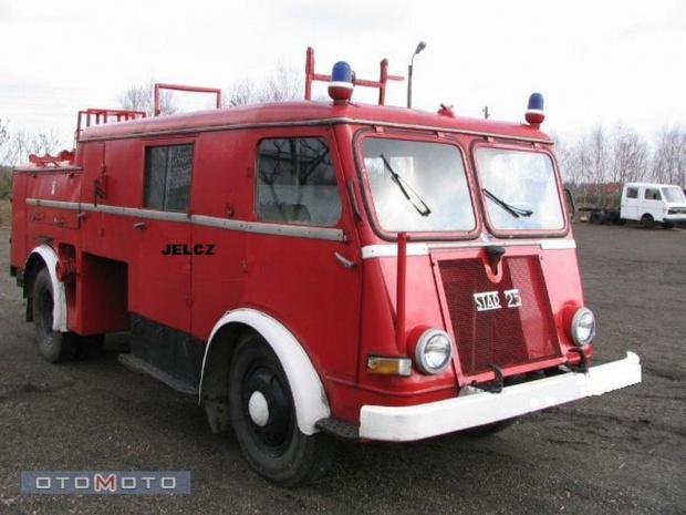 samochód gaśniczy SBA 2000/16 typ N-752 Jelcz na podwoziu samochodu STAR A 25 P ------------- Fotografię udostępnił Właściciel pojazdu, obecnie pojazd jest wystawiony na sprzedaż w portalu OTO MOTO oraz Allegro.pl
