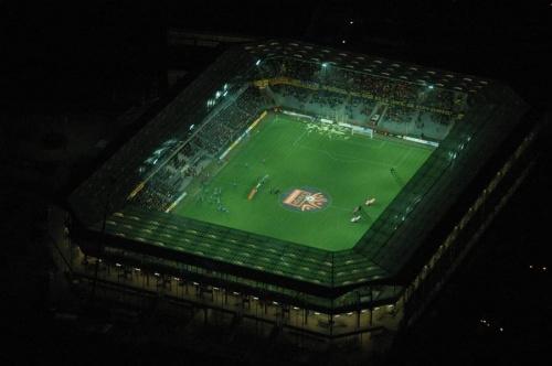Stadion Korony (foto2) z lotu ptaka. #KoronaKielceKolporterStadion