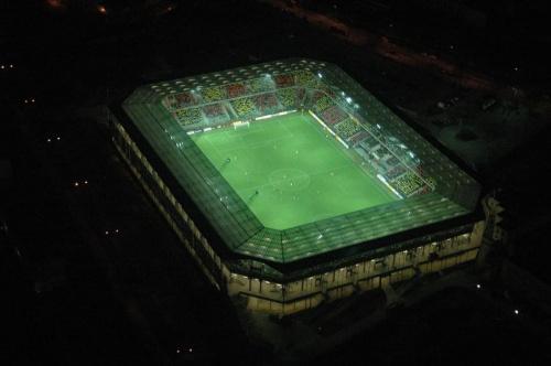 Stadion Korony (foto1) z lotu ptaka. #KoronaKielceKolporterStadion