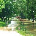 Puławy - bulwar nad Wisłą - 8 czerwca 2006 godz. 13.50 #Puławy #Wisła #bulwar #rzeka #woda